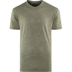 Alchemy Equipment 180GSM Merino V Tee Men gunmetal marle